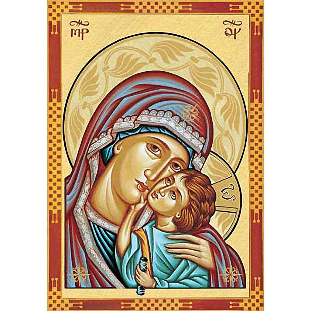 Stampa Madonna della Tenerezza primo piano 3