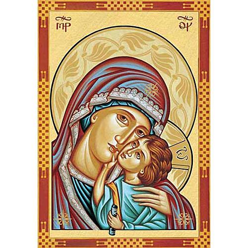 Stampa Madonna della Tenerezza primo piano 1