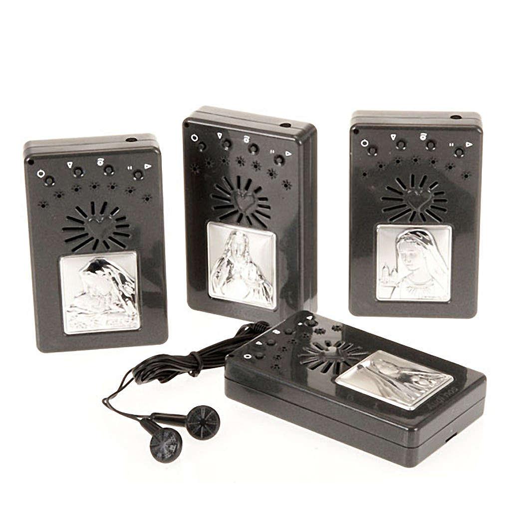 Rosario elettronico grigio immagine argento 4