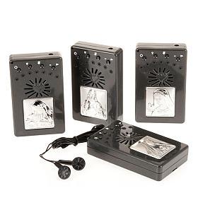 Rosario elettronico grigio immagine argento s1