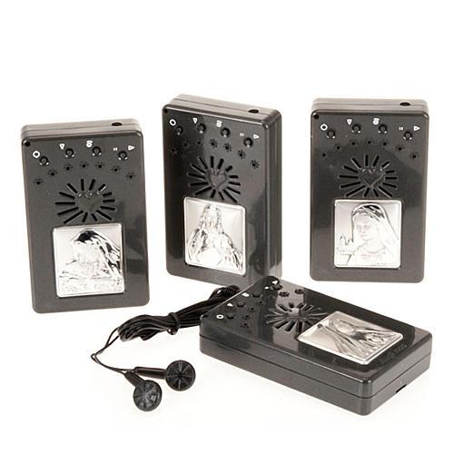 Rosario elettronico grigio immagine argento 1