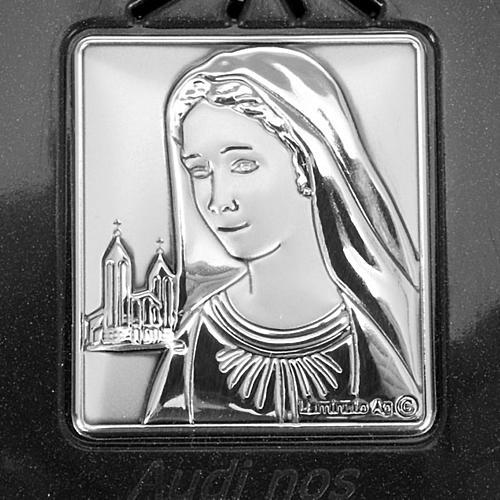 Rosario elettronico grigio immagine argento 2