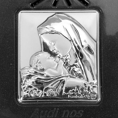 Rosario elettronico grigio immagine argento 5