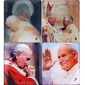 Chapelet électrique bleu Jean Paul II, litanies de Lorette en italien s6