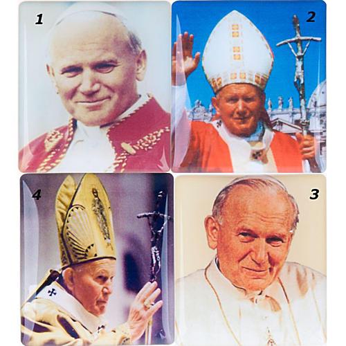 Chapelet électrique bleu Jean Paul II, litanies de Lorette en italien 7