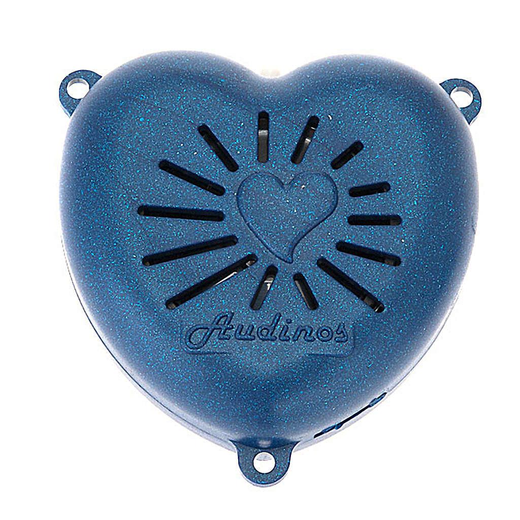 Rosario electrónico corazon medalla 4