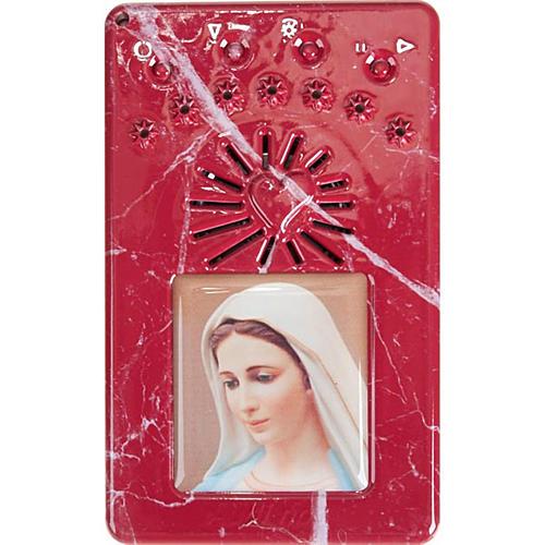 Digital Rosary and divine mercy prayer blue 6