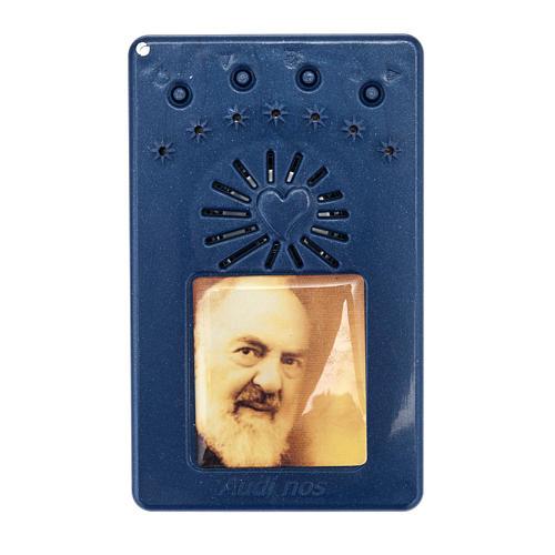 Rosario Elettronico Blu Coroncina Divina Misericordia 1
