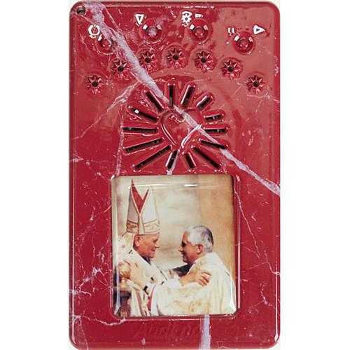Chapelet digitale Jean Paul II, divine miséricorde bleu 6