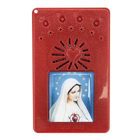 Rosario Elettronico Rosso Coroncina Divina Misericordia s1