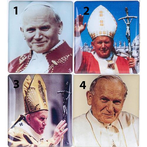 Rosario Elettronico rosso marmorizzato G.Paolo II Litanie 2
