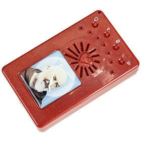 Chapelet électrique rouge Litanies de laurette en italien s4