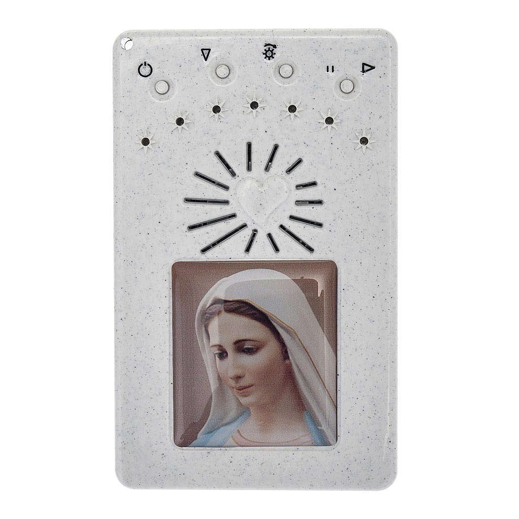Rosario Elettronico bianco Litanie Lauretane 4