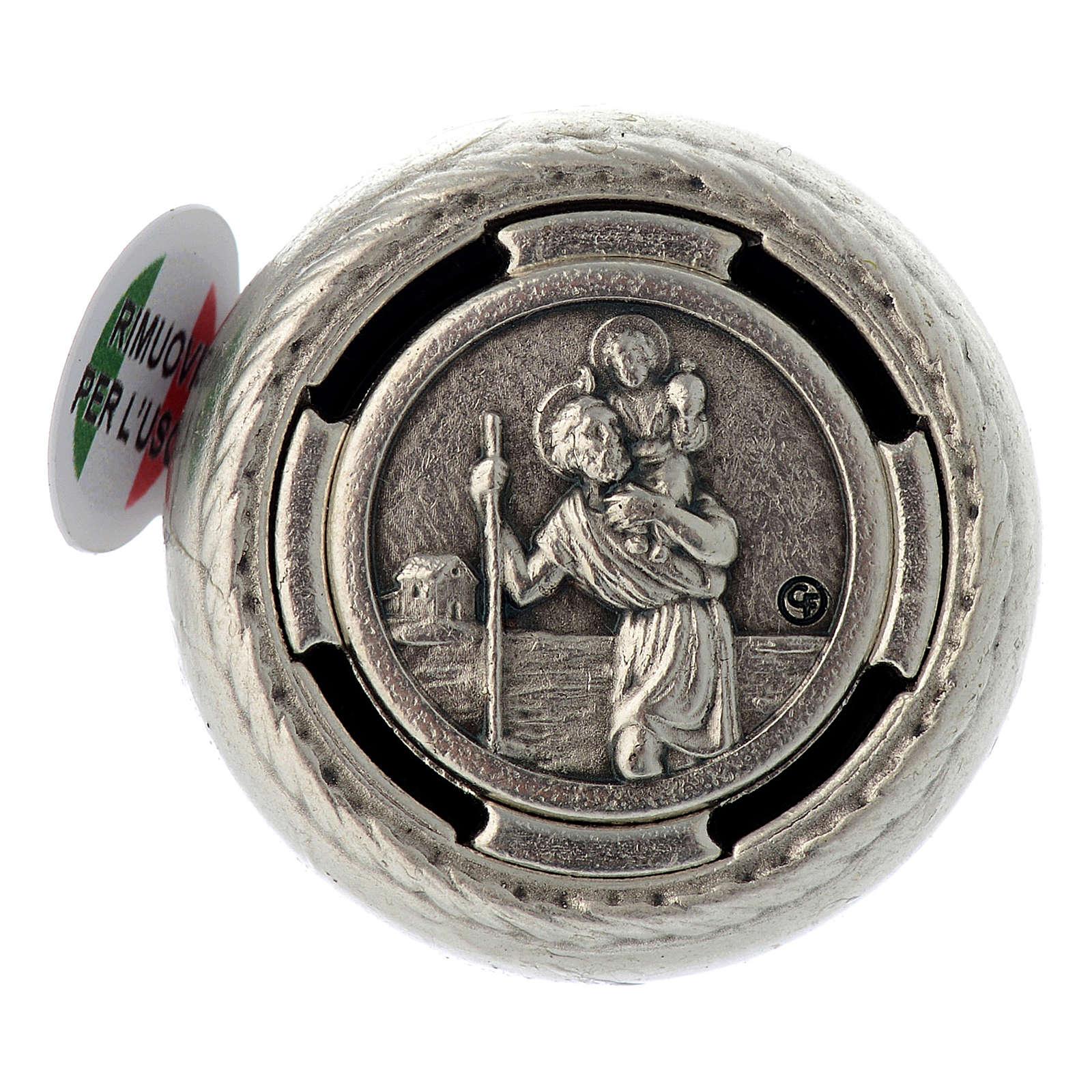 Placca parlante adesiva preghiera San Cristoforo 4