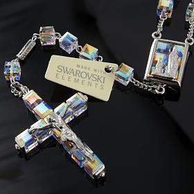 Rosario Ghirelli Swarovski cubo Iridescente Lourdes s7
