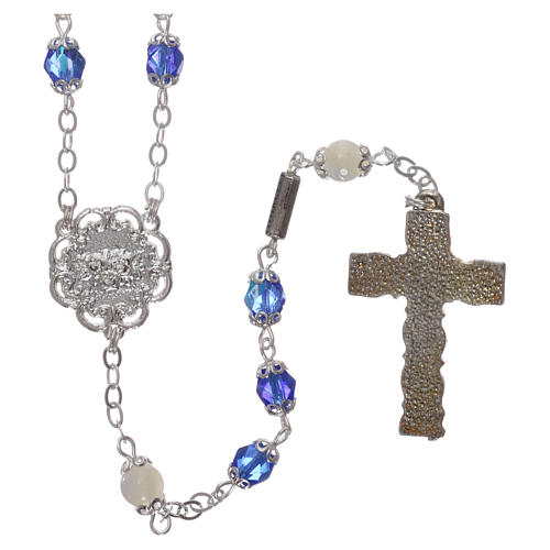 Ghirelli rosary mother-of-pearl Pater Noster beads 2
