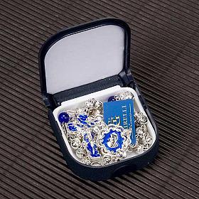Chapelet Ghirelli en bleu et argent s6