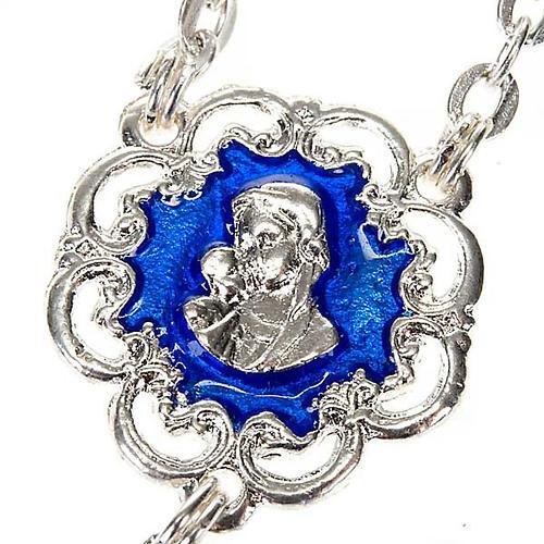 Chapelet Ghirelli en bleu et argent 3