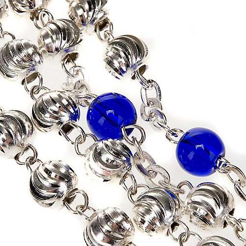 Chapelet Ghirelli en bleu et argent 5