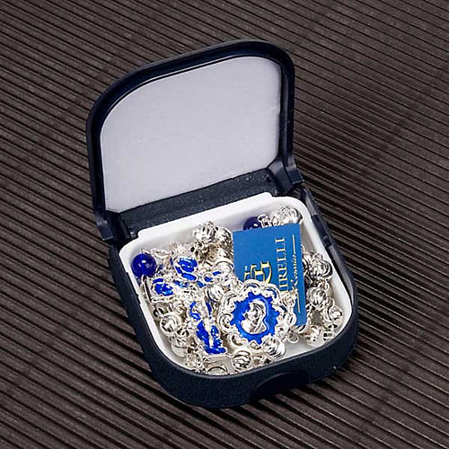 Chapelet Ghirelli en bleu et argent 7