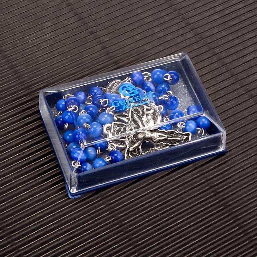 Rosario Ghirelli vetro blu chiaro 4