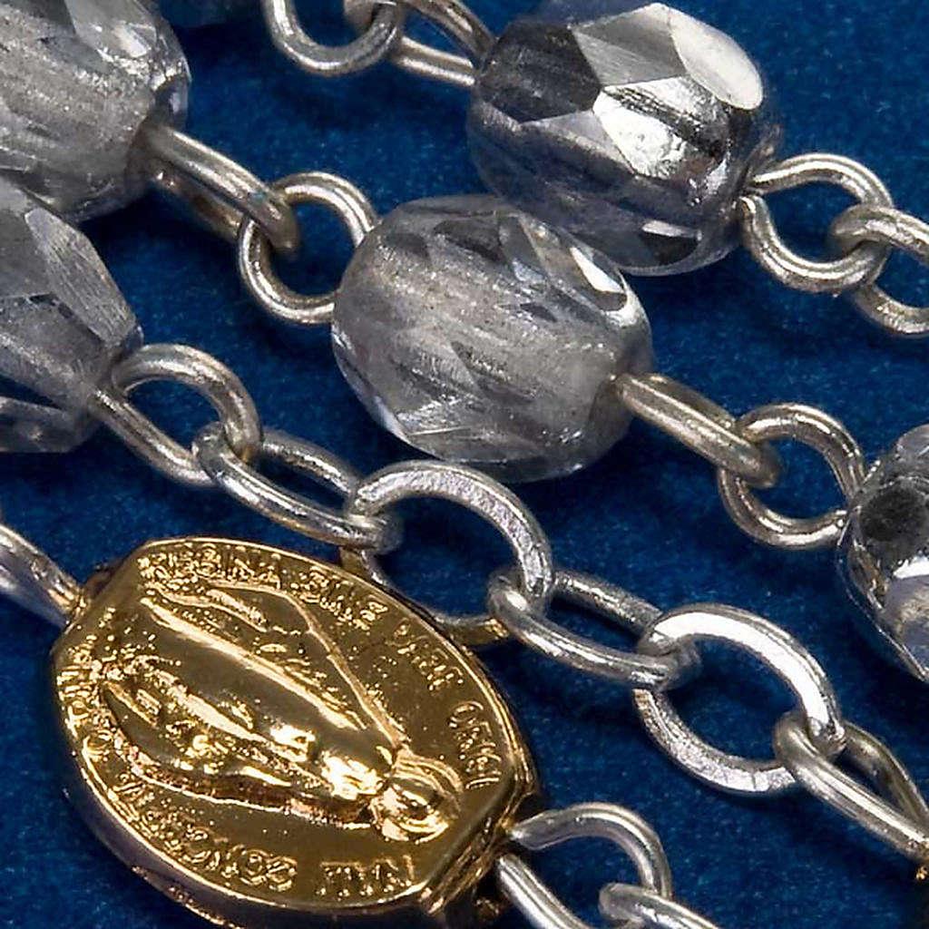 Rosario Ghirelli vetro sfaccettato silver 4