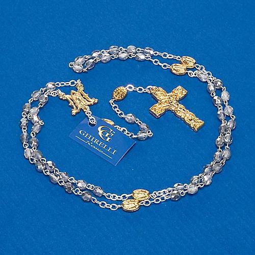 Rosario Ghirelli vetro sfaccettato silver 5