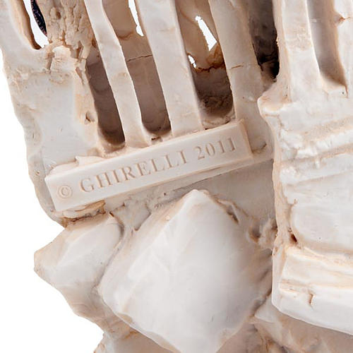 Sculture présentoir Ghirelli en mémoire du 11 Septembre 6