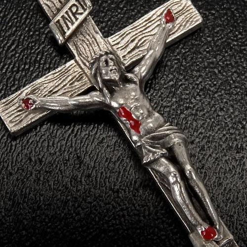 Rosario Ghirelli di Padre Pio  vetro zaffiro 6