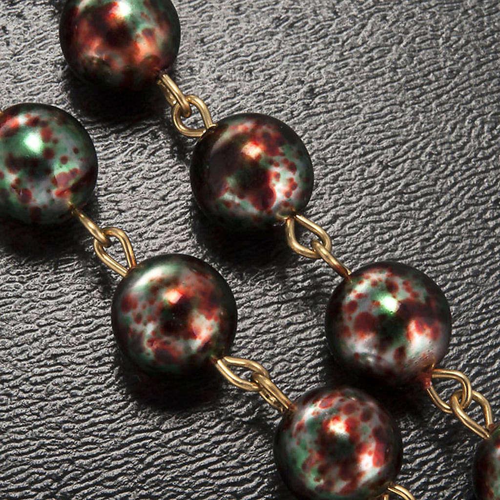 Rosario Ghirelli Natale vetro Boemia 8 mm 4