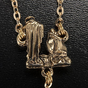 Ghirelli rosary Christmas with Bohemia glass 8 mm s6