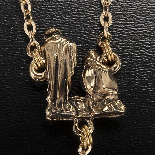 Ghirelli rosary Christmas with Bohemia glass 8 mm 6