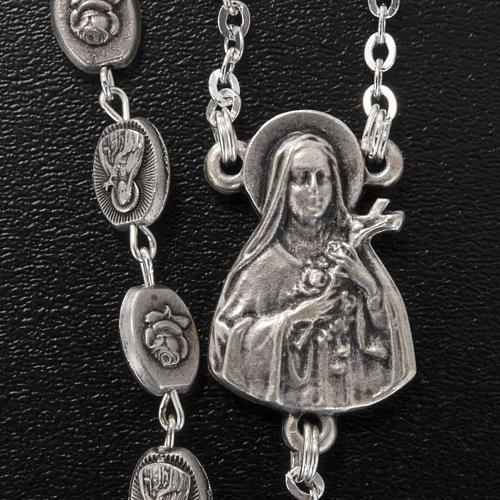 Rosario Ghirelli Santa Teresa Lisieux 6x8 mm 4