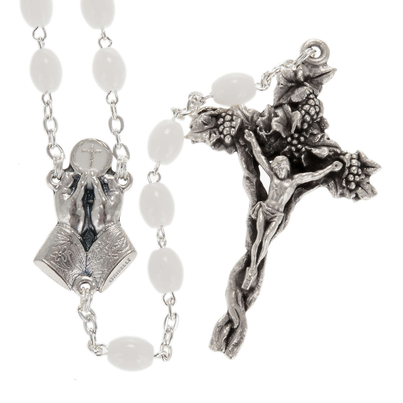 Ghirelli rosary Bohemia glass 5x7 mm 4