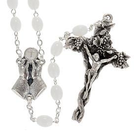 Ghirelli rosary Bohemia glass 5x7 mm s1