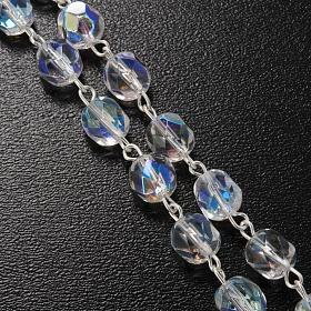 Chapelet Ghirelli demi-cristal Jésus Miséricordieux 7mm s5