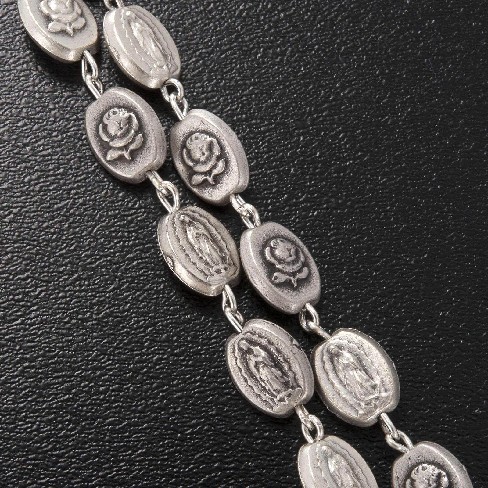 Rosario Ghirelli Madonna Guadalupe argentata 6x8 mm 4