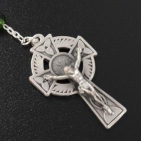 Chapelet Ghirelli St. Patrick verre vert 6mm s3