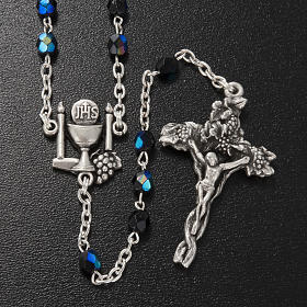 Ghirelli rosary, black First Communion, 5mm s2