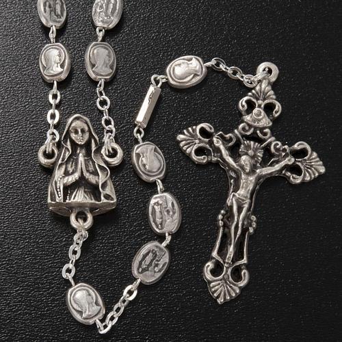 Rosario Ghirelli ottone Madonna e grotta Lourdes 2