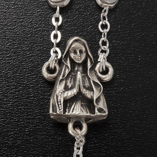 Rosario Ghirelli ottone Madonna e grotta Lourdes 4