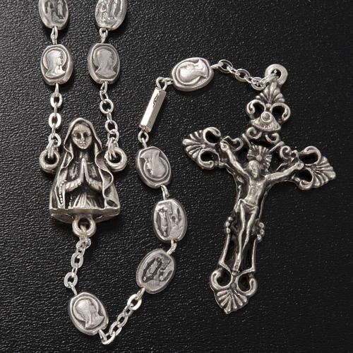 Ghirelli rosary in brass, Our Lady of Lourdes 2