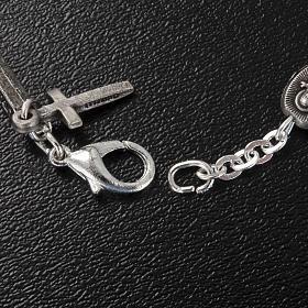 Bracelet dizainier Ghirelli laiton St. Thérèse rose s4