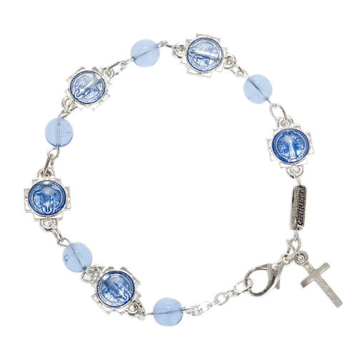 Ghirelli bracelet single decade St. Benedict 1