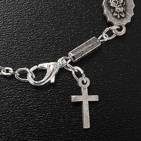 Ghirelli single-decade bracelet, Our Lady of Lourdes 6x8mm s3