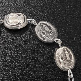 Ghirelli single-decade bracelet, Our Lady of Lourdes 6x8mm s4