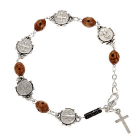 Ghirelli single-decade bracelet, Saint Benedict s1