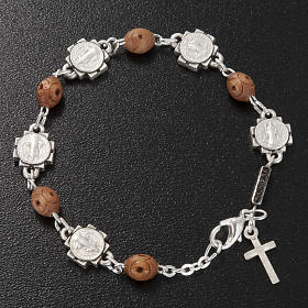 Ghirelli single-decade bracelet, Saint Benedict s3