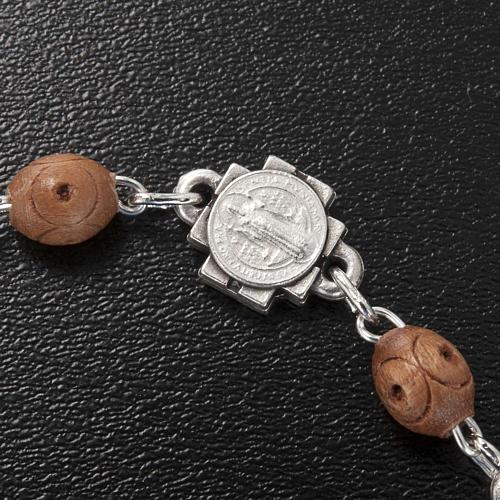 Ghirelli single-decade bracelet, Saint Benedict 7
