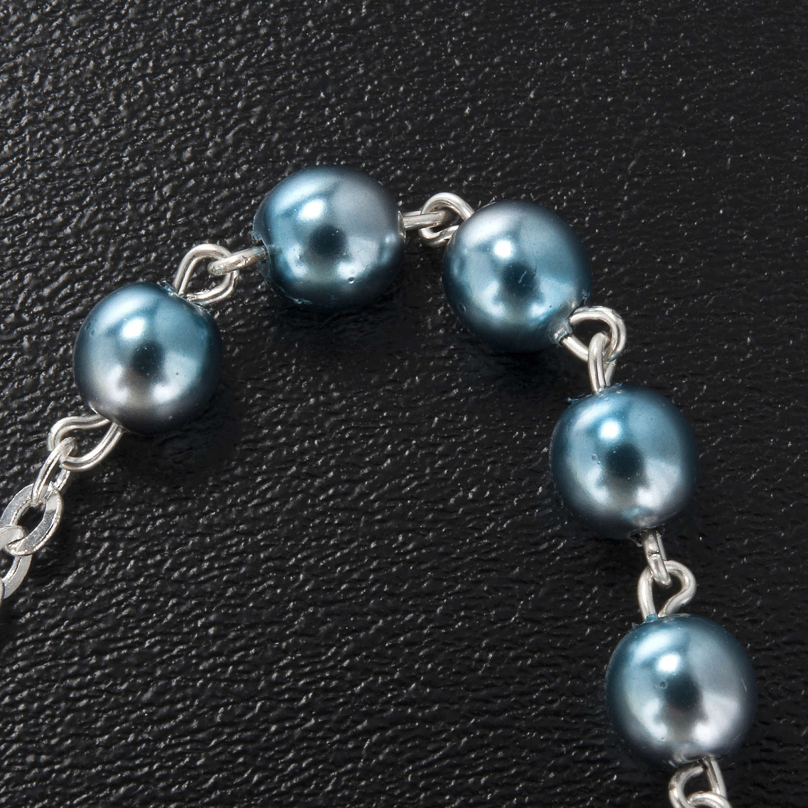 Ghirelli single-decade bracelet, Bohemia glass, Marian 4